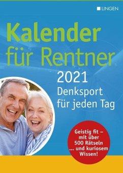 Kalender für Rentner 2021 - Kalender portofrei bestellen