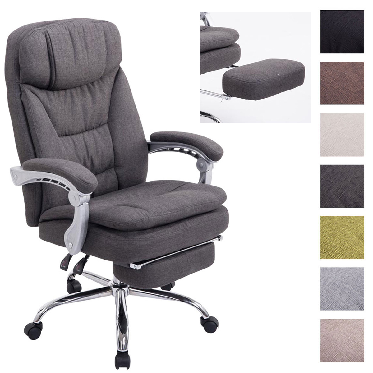 Living Xl Chairs Xl Office Chair Troy Tweed Managerial Executive Gaming