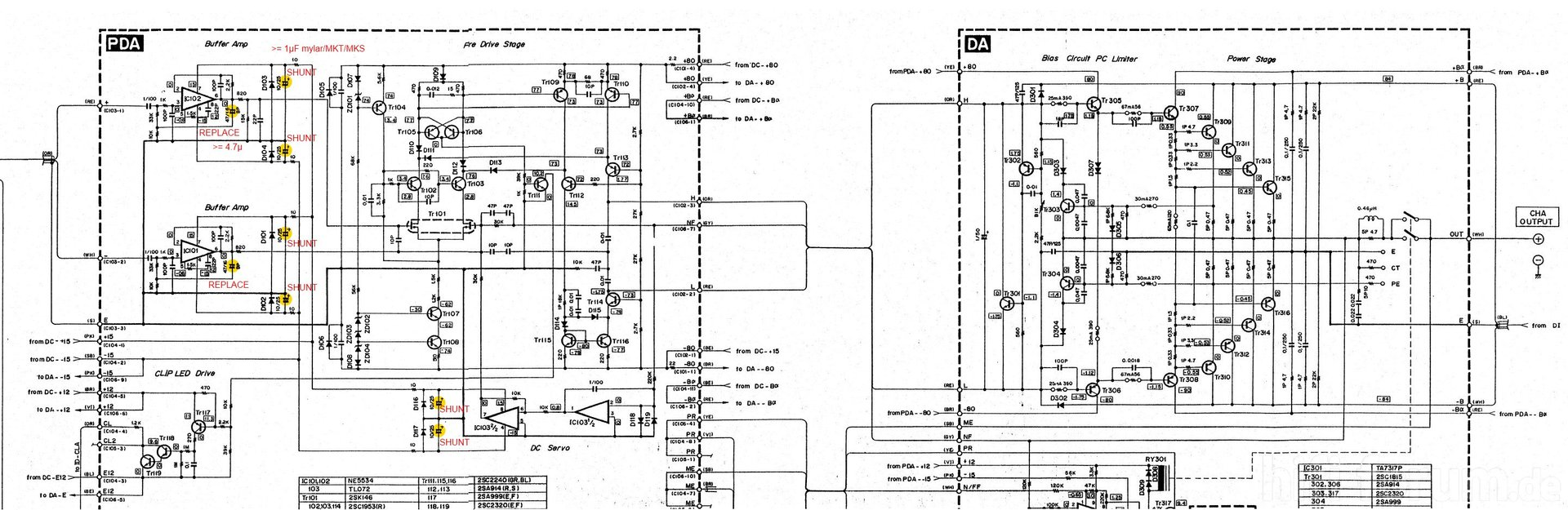 hight resolution of yamaha pc2002m power amp partial schematic with recap yamaha g5 amp schematic yamaha schematics r3