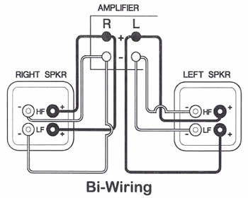 How To Bi Wire Speakers Diagram Wiring Diagram For Speaker