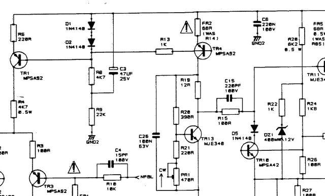 Reparatur Spirit Power Station, Elektronik (Stereo
