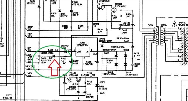 Senderverlust DENON DRA 385 RD, Elektronik (Stereo