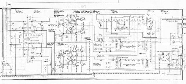 Amp Technics SU-V660 Keine Relaisfreigabe, Hifi-Klassiker
