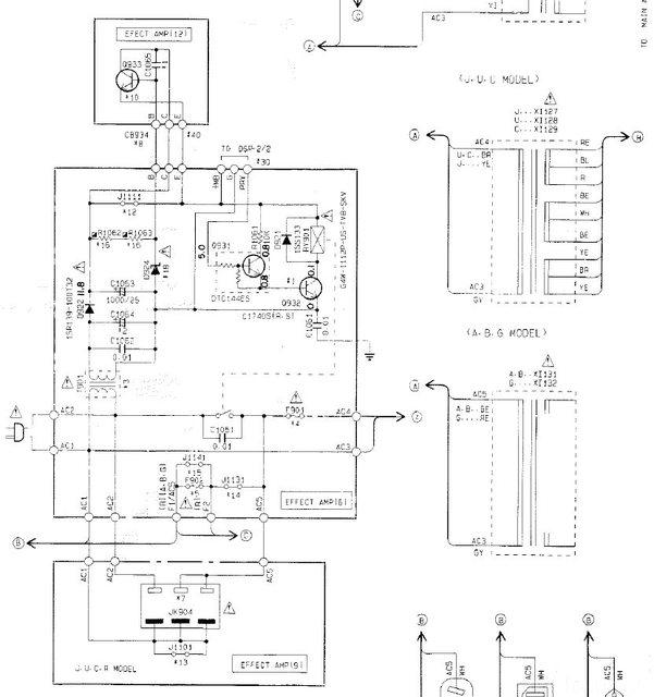 Yamaha DSP A1000 schaltet nach test(?) ab!, Elektronik