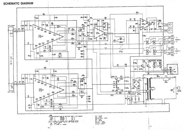 UHER UMA 400 / Palladium LA 1200 reparieren, schaltplan