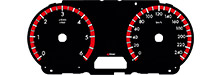 Tachoscheibe Mazda 3 BL