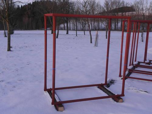 Brennholz Lagergestell Lagerbox Stapelgestell