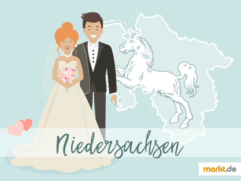 Romantische Orte fr eine Hochzeit in Niedersachsen  marktde