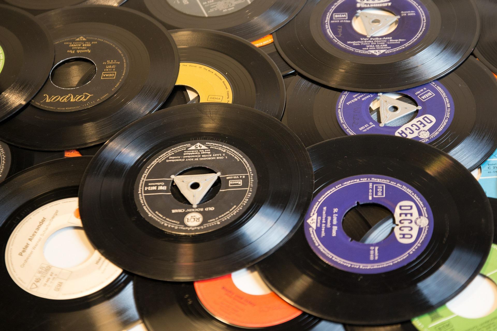 Schallplatten Basteln Tipps Fast Fertig Ideemat