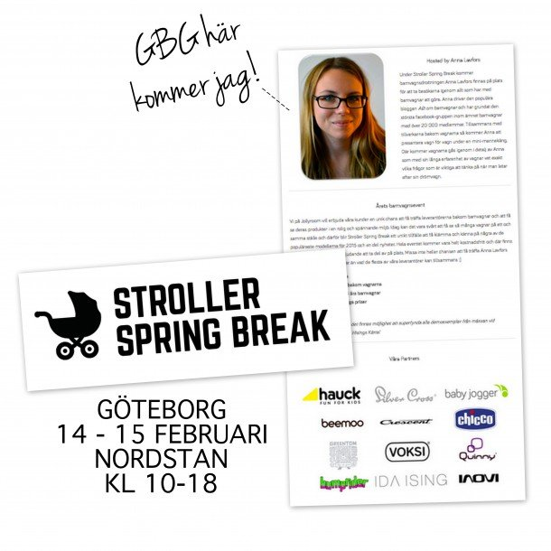 Stroller Spring Break med Jollyroom!