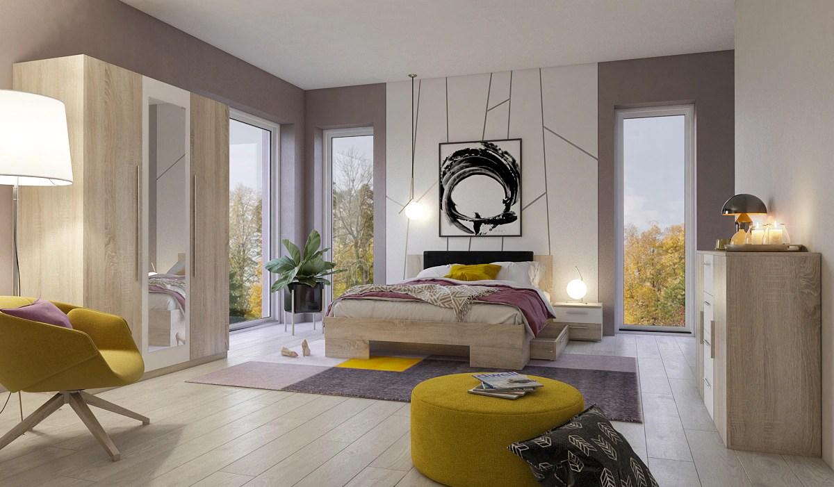 Quelle Mobel Schlafzimmer Bettwasche Uni Grau