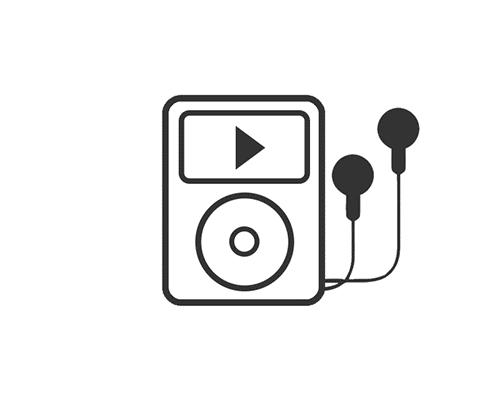 Apple iPod Shuffle 2 GB Rot 4.Gen A1373 MD780LL