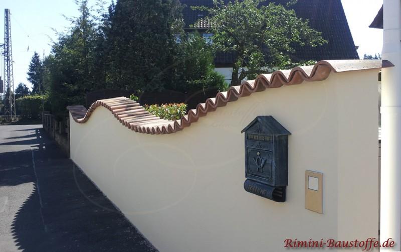 gartenmauer mediterran bilder - boisholz, Hause und garten