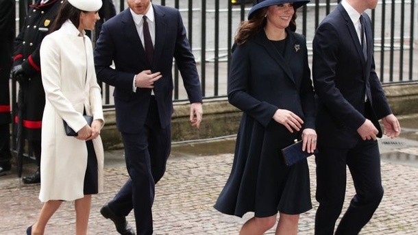 After frustration interview: William and Harry together at World War II commemoration. The British princes meet at a gala to commemorate the dead of the First World War at London's Royal Albert Hall.