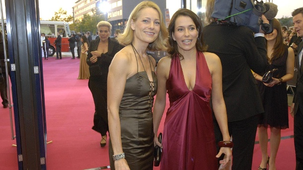 Miriam Meckel and Anne Will: Here were the two in 2008 at the German Television Award. (Source: imago images / teutopress)