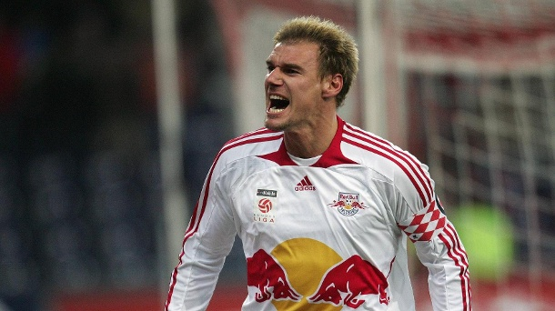 Alexander Zickler: From 2005 to 2010 he stormed for RB Salzburg, won three championship titles (2007, 2009, 2010) and was top scorer twice (2007, 2008). (Source: imago images / Ulmer)