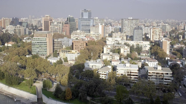 South American city: There will be a curfew in Santiago de Chile from Friday. (Source: imago images)