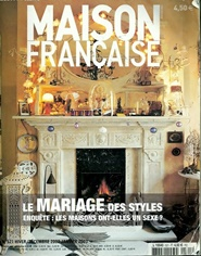 Fransk inredningstidning