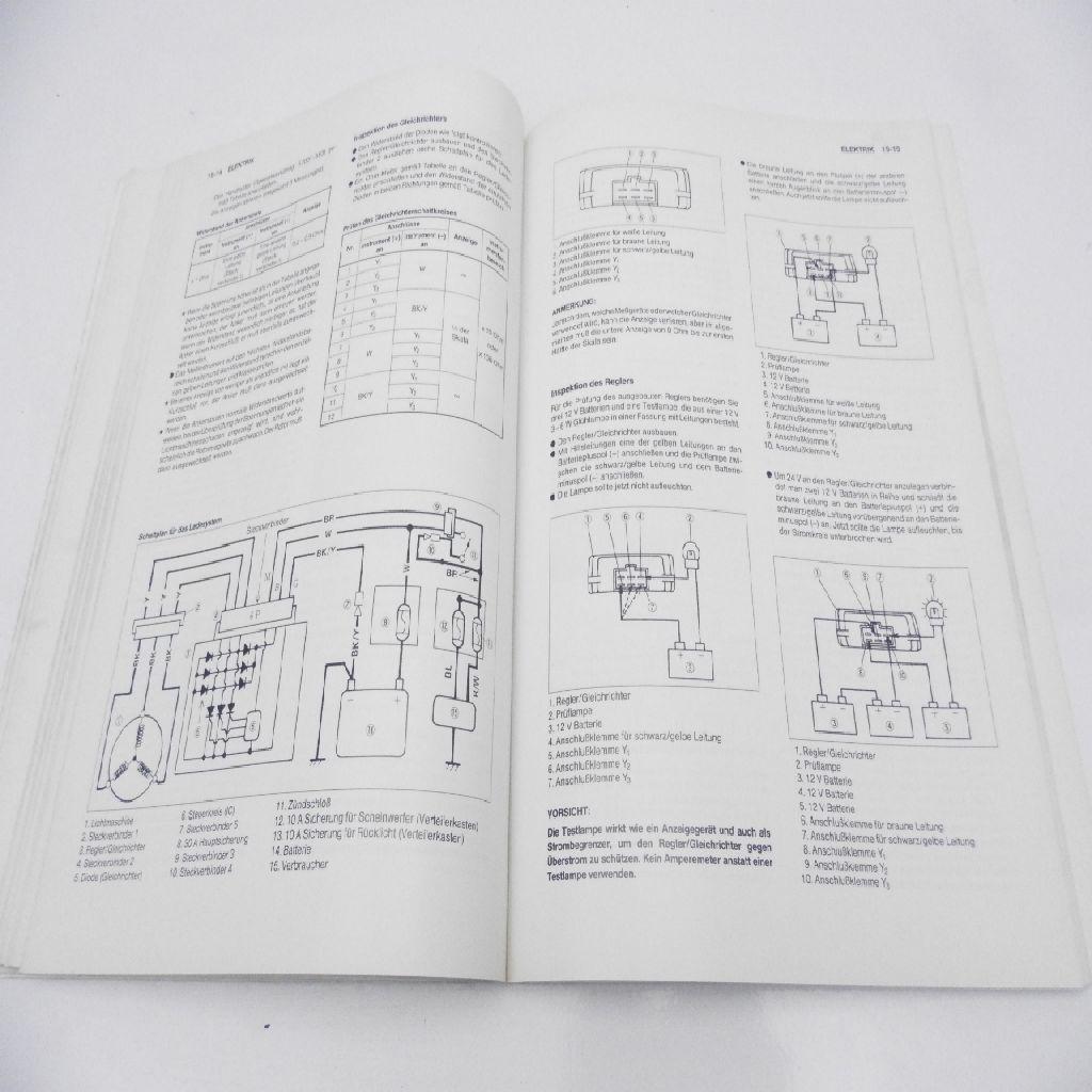 Kawasaki ZXR 400 Orginal Repair Manual Workshop Manual