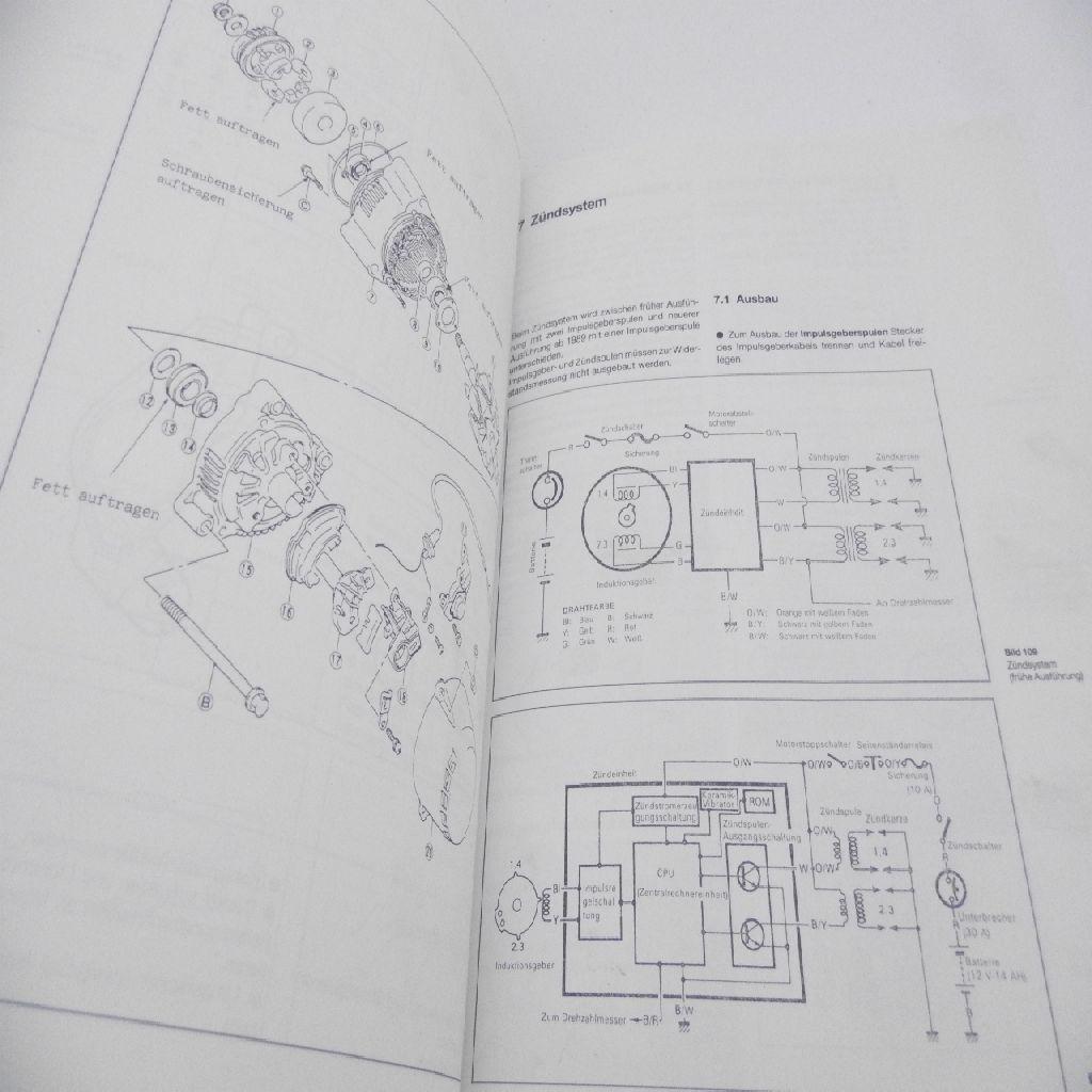 Suzuki GSX-R 1100 W Betriebsanleitung Handbuch Service