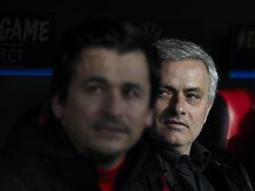 Nutzt auch im TV das Rampenlicht: José Mourinho