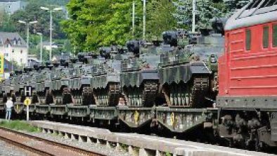 Hoffentlich kommt es nicht dazu, dass Panzer durch Europas Straßen rollen müssen.