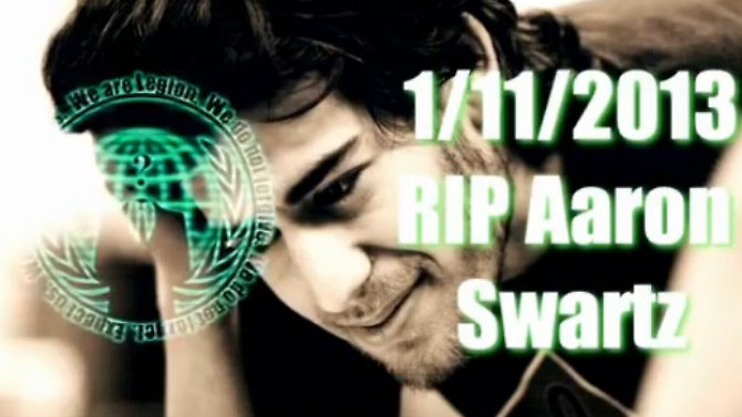 Screenshot aus dem YouTube-Video von Anonymous.