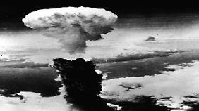 Nagasaki wurde am 9. August 1945 bombardiert, drei Tage nach Hiroshima.