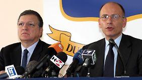 Barroso und Letta wollen mehr tun. Was und wie - da sind auch sie noch ratlos.