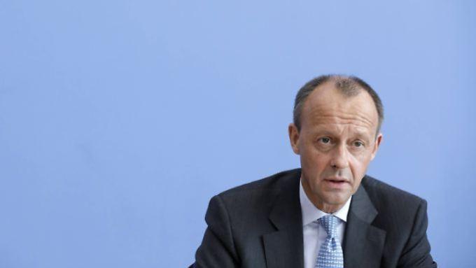 Has earned well in the past few years - Friedrich Merz.