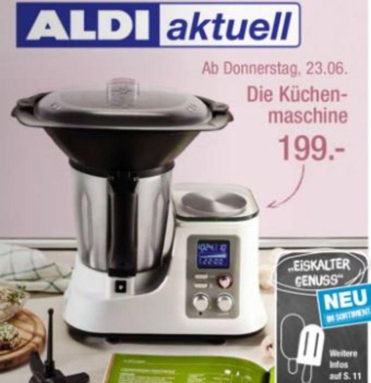 Aldi Süd Ambiano Küchenmaschine 2021