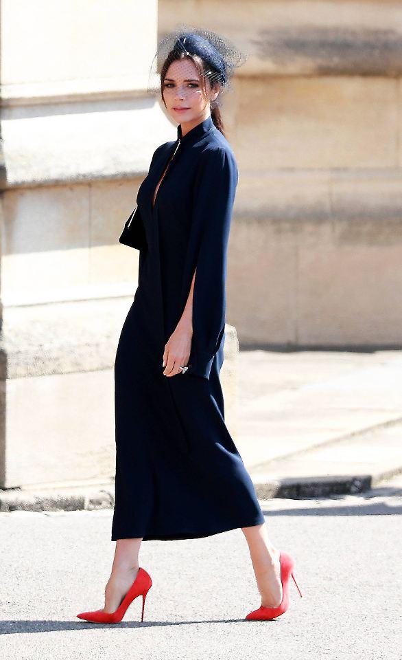 Royal WeddingGesicht Victoria Beckham reagiert auf Kritik  ntvde