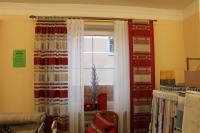 Vorhange Wohnzimmer Rot