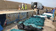 Katastrophe im Mittelmeer: Dramatischer Schiffbruch vor Lampedusa