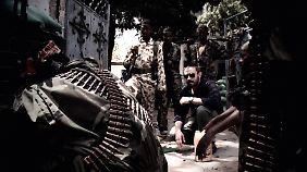 Jeremy Scahill in Mogadischu, Somalia.