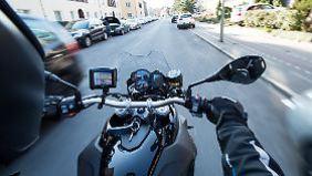 In moderen Motorräder ließe sich der Notbremsassistent ohne Weiteres integrieren.