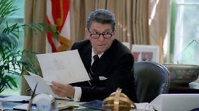40. Präsident der USA: Ronald Reagan.
