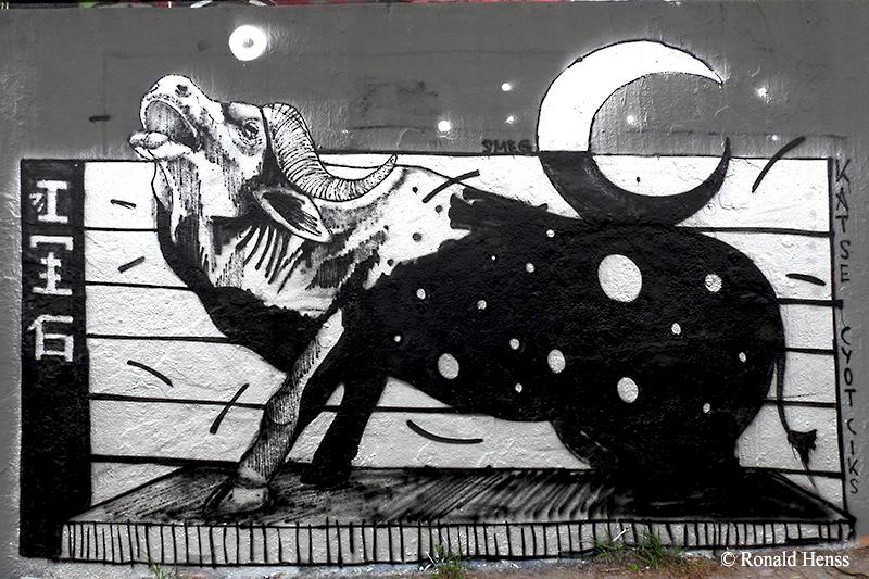 Graffiti in Saarbrücken