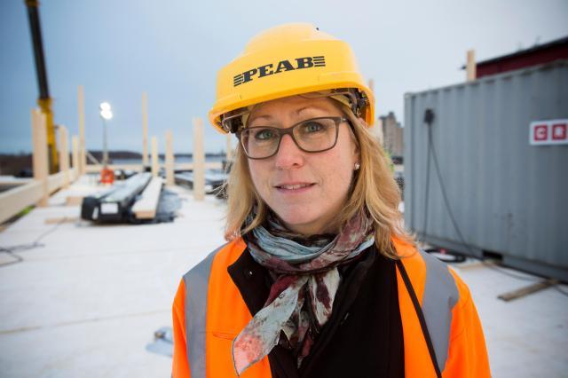 Emma Björkenstam är byggchef på kommunala fastighetsbolaget Gavlefastigheter. Arkivbild från 2017.