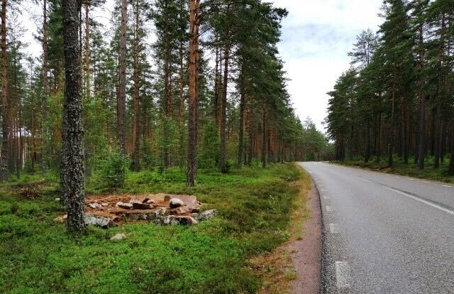Det är stenen strax söder om Årsunda som är försvunnen.