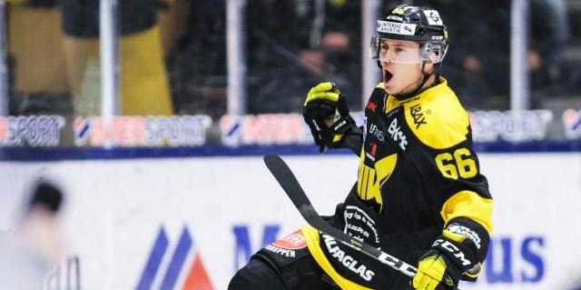 Alexander Lindelöf sägs vara klar för spel i Brynäs. Bild: Tobias Sterner/Bildbyrån