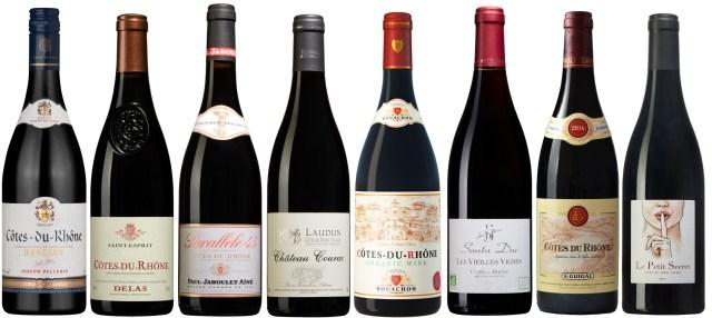 Franska Rhônedalens röda viner passar utmärkt till höstens/vinterns mer rustika mat, som grytor och stekar. Och till mycket av vår svenska husmanskost i stort. Främst vinerna från södra Rhône ger mycketsmak, kvalitet och karaktär för pengarna. Här är åtta riktigt bra val.