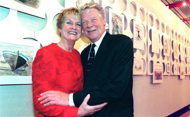 8 november 1998: Inger Dolk tar över och blir restaurangchef vid CH efter Rolf Sandberg. Hon är känd från Skeppet. Bild: Leif Jäderberg.