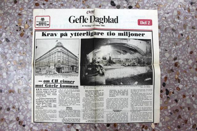 7 november 1985: Krav på ytterligare tio miljoner om CH vinner mot Gävle kommun.