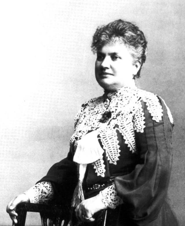 Wilhelmina Skogh. Arkivbild.