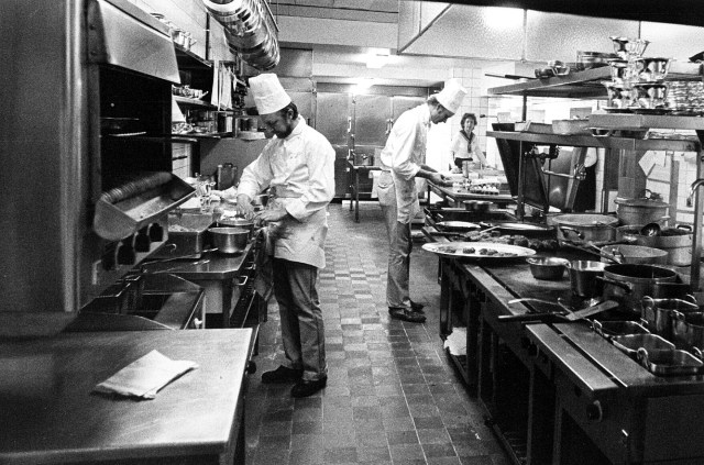 20 mars 1981: Köket på CH.