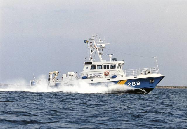 Vid Kustbevakningens kontroll uppstod misstankar om sjöfylleri, sedan en ansvarig person ombord visat sig ha 0,54 promille alkohol i blodet.