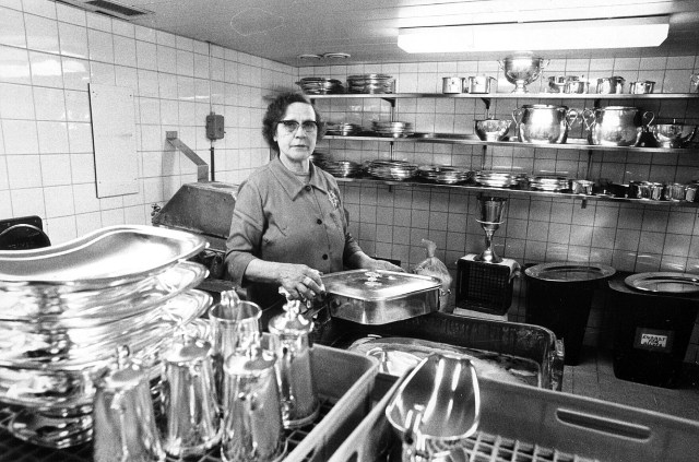 20 mars 1981: Valma Nyberg putsar silver på CH.