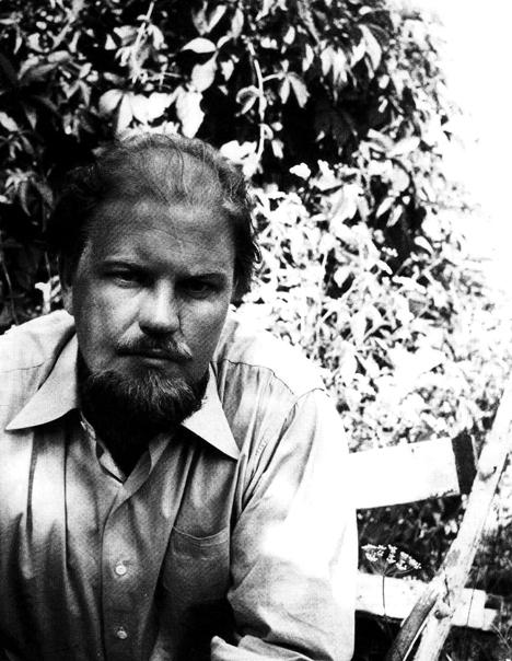 Stig Sjödin 1949, vid tiden för Sotfragment. Foto okänd.