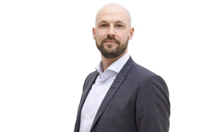 Martin Blomgren, presschef och talesperson för Sandvik. Foto: Pressbild / Sandvik